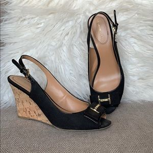 Tommy Hilfiger Bow Wedges